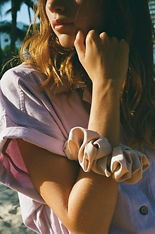 Oversize Solid Scrunchie by Free People