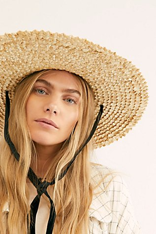 Dolce Sun Straw Hat by Free People