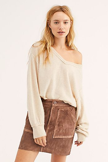 e5d907f2294d57 Oversized Sweaters, Turtleneck Sweaters + More   Free People