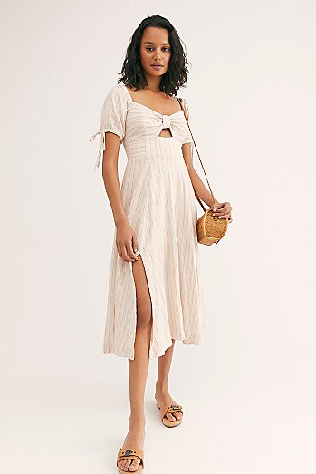 Sunshine Eyes Midi Dress