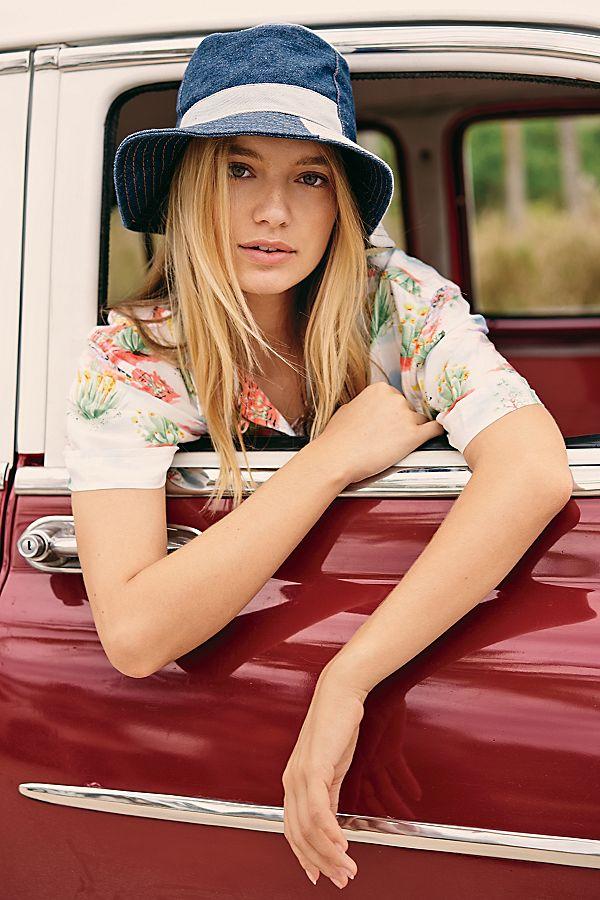 94c2c63a913 Slide View 1  Jean Genie Patchwork Bucket Hat