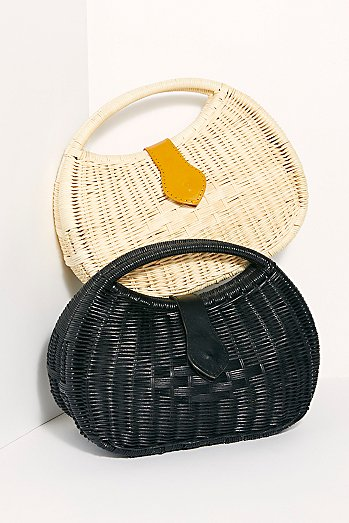 Penelope Basket Clutch