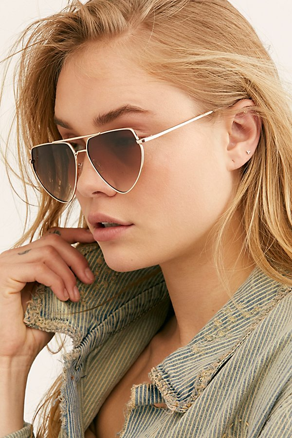 Slide View 2: Diamond In The Rough Aviator Sunglasses