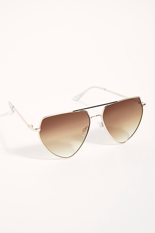Slide View 3: Diamond In The Rough Aviator Sunglasses