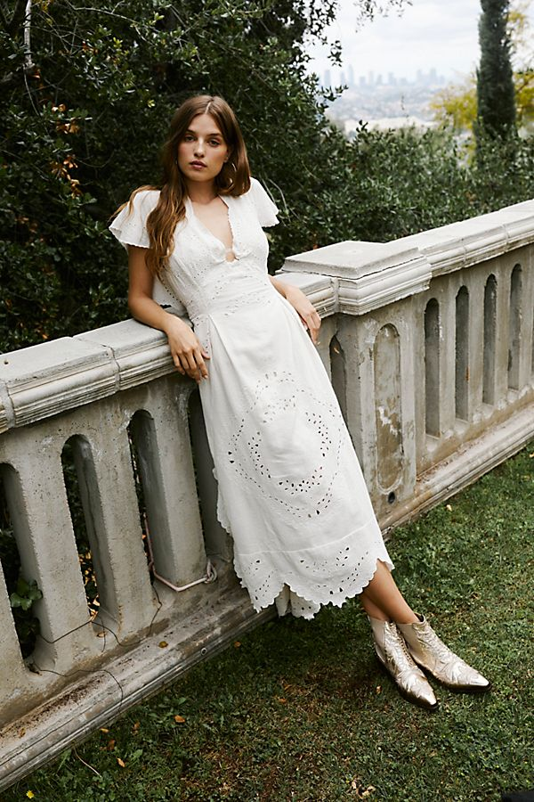 Jill's Limited Edition White Dress | Free People