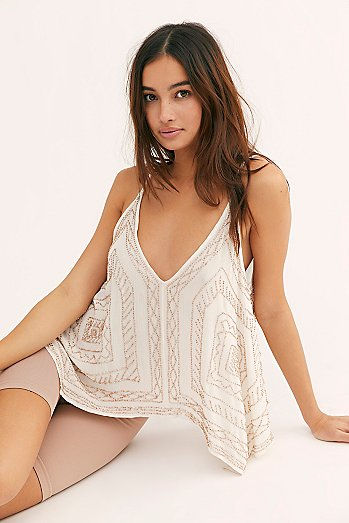 On The Line Embellished Cami