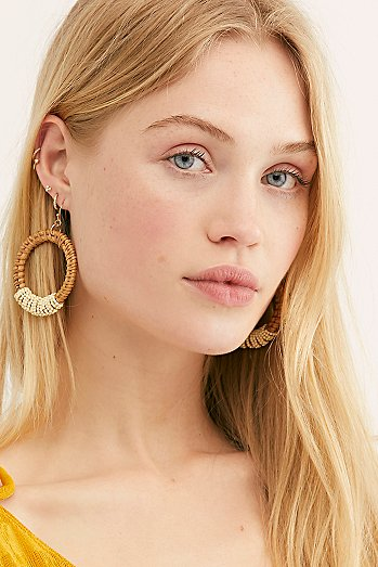Manu Bay Hoop Earrings