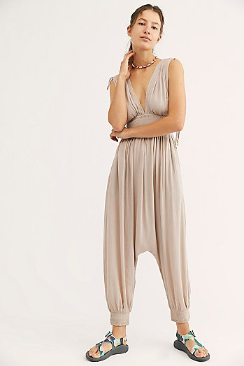 Waiting For The Sun Triangle Jumpsuit