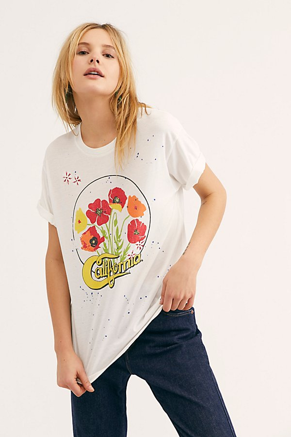 Slide View 1: Embroidered California Tee