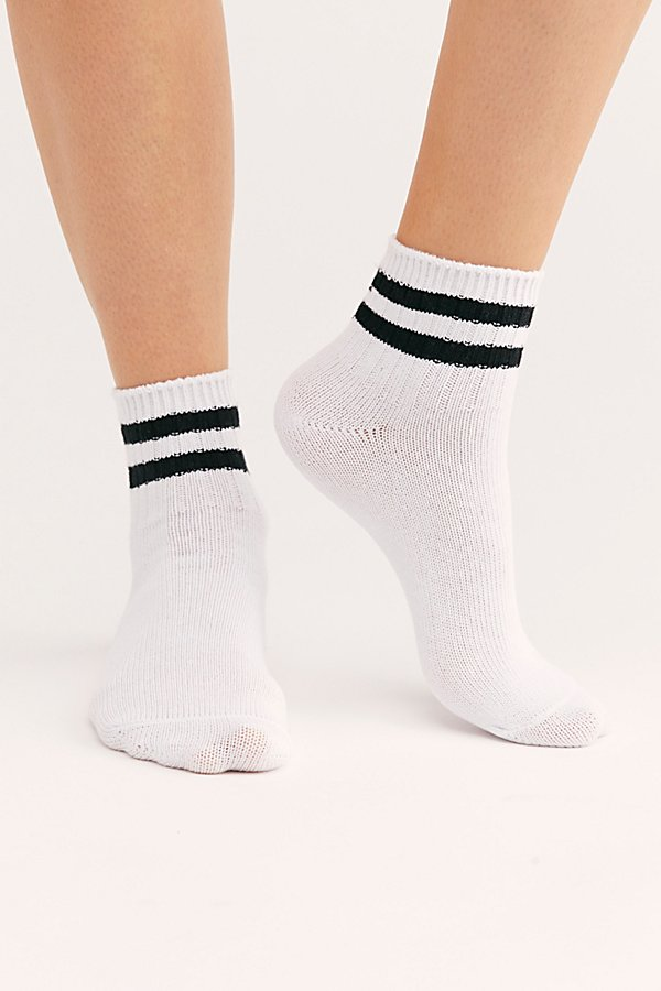 Slide View 1: Aria Stripe Socks