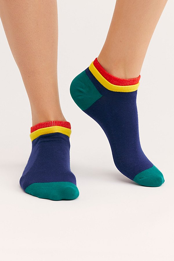 Slide View 1: Cassat Color Block Socks