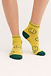 Thumbnail View 1: Emoji Short Crew Socks