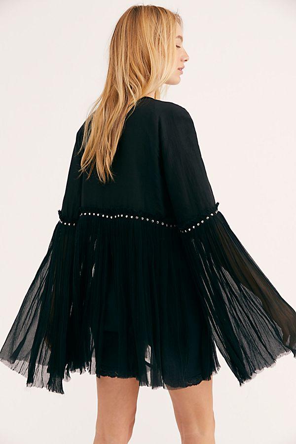 Flutter Sleeve Jacket