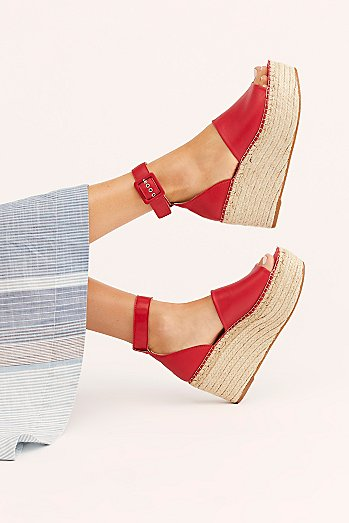 Coastal Platform Wedge Sandal