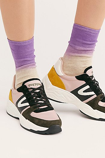 Dakota Dip Dye Crew Socks