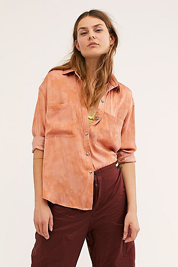 48a322c2ce7742 We The Free Color Of The Valley Buttondown