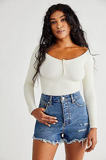 22233dd5c9 Womens Jean Shorts   Denim Cut Off Shorts