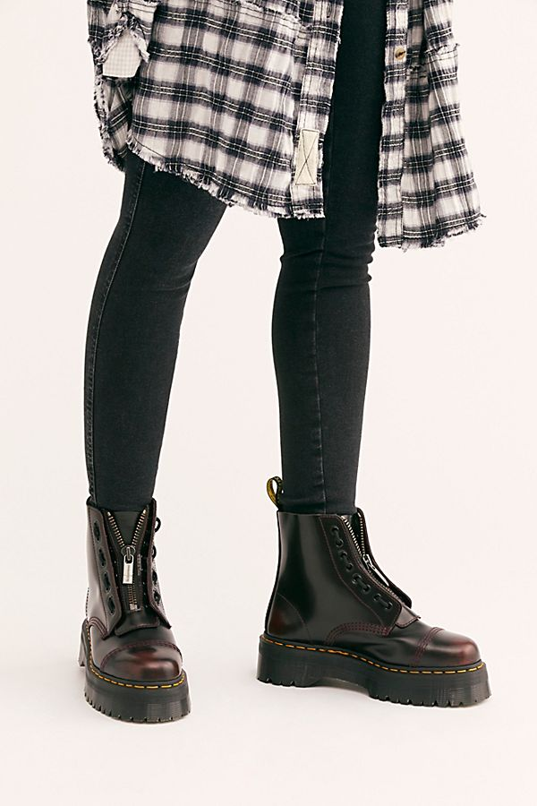 footwear novel style unparalleled Dr. Martens Sinclair Zip Front Boot