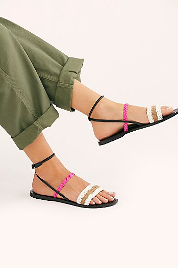 Secret Beach Strappy Sandal
