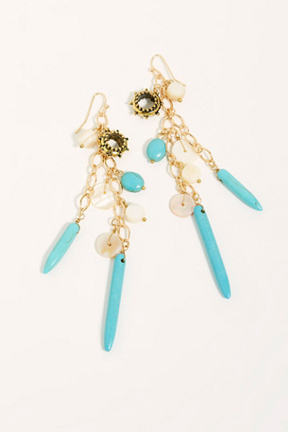 Sand Dunes Dangle Earrings by Free People
