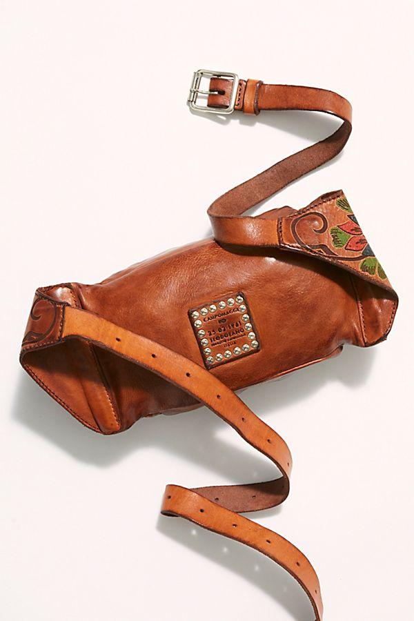spätester Verkauf Outlet-Store Rabatt bis zu 60% Campomaggi Floral Painted Belt Bag