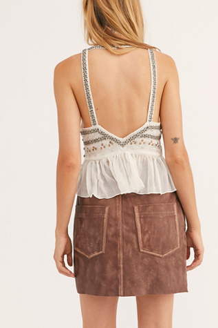 Voyager Mini Skirt by One Teaspoon
