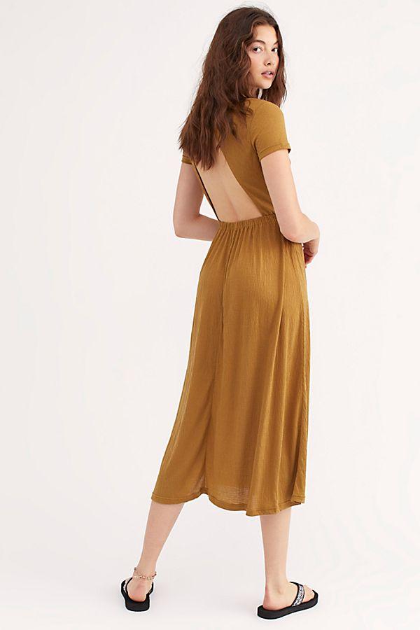 good out x super popular size 40 Castaway Midi Dress
