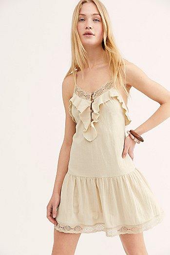 Frill Seeker Drop Waist Dress