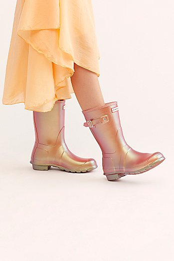 Hunter Short Nebula Wellies