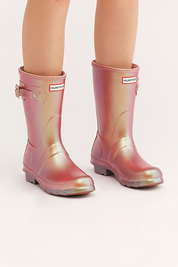 Slide View 2: Hunter Short Nebula Wellies