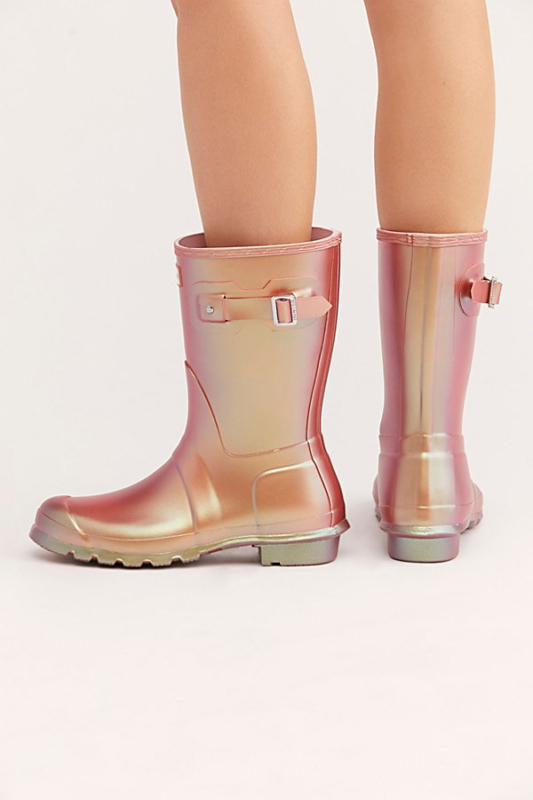 Slide View 4: Hunter Short Nebula Wellies