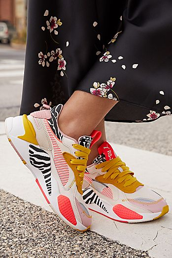 Reebok Damen Sneaker Speed Breeze Mesh Kontrast Detail Logo
