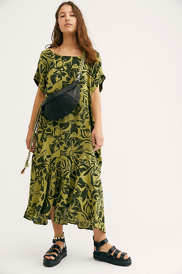 Crisp And Cool Printed Dress by Free People