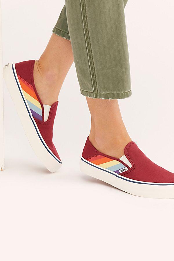 Rainbow Slip On SF Sneakers