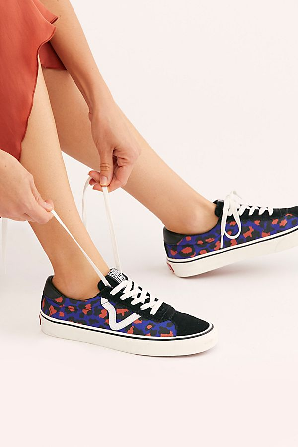 Leopard Vans Sport Sneakers