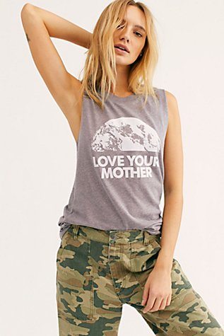 Love Your Mother Muscle Tank by Free People