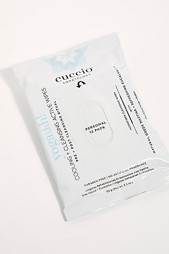 Cuccio Somatology Cooling + Cleansing Active擦拭巾