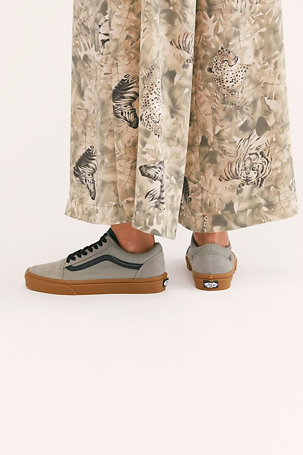 UA Old Skool Shadow Gum Sneaker