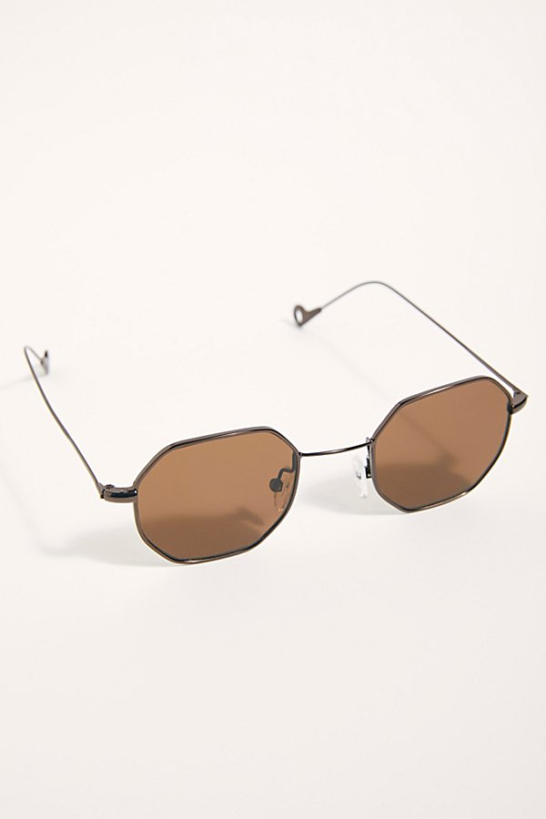 Slide View 2: Madison Octagon Sunglasses