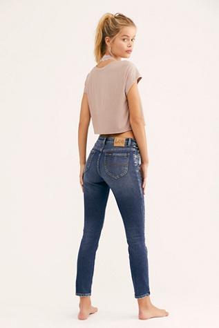 Lee Mid Rise Skinny Jeans by Lee