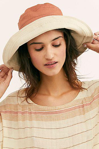 e9647856492 Maisy Reversible Canvas Hat