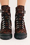 Thumbnail View 4: Cheetah Check Lace-Up Boot