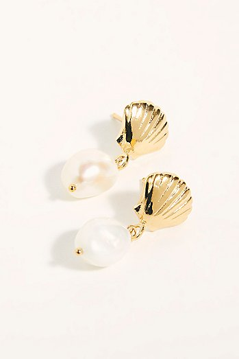 Marcel Pearl Stud Earrings
