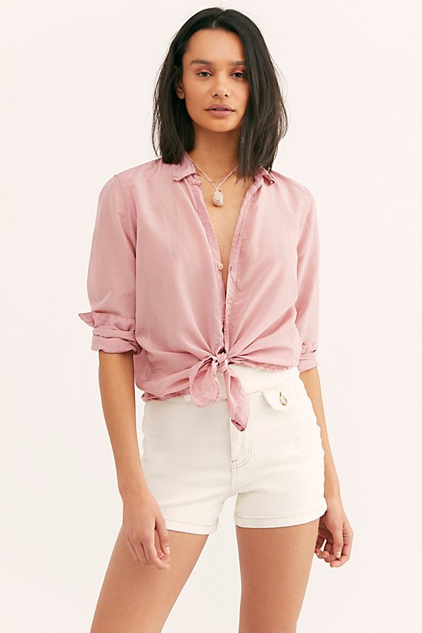 Slide View 1: Marshmallow Silk Buttondown