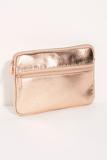Metallic Tech Organizing Pouch