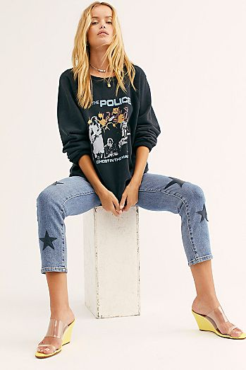 2249ca30fc Blank NYC Ever After Star Skinny Jeans