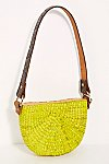 Thumbnail View 4: Sunshine Straw Shoulder Bag