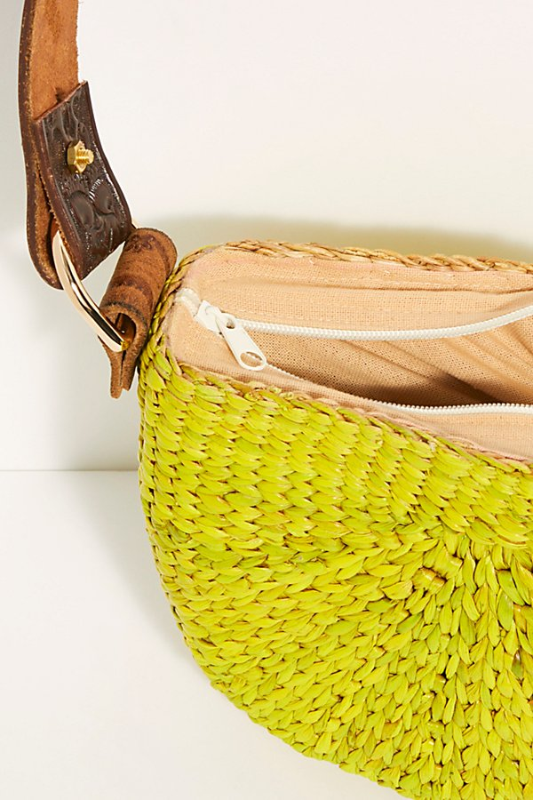 Slide View 6: Sunshine Straw Shoulder Bag
