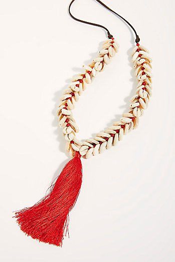 Lena B Tassel Necklace