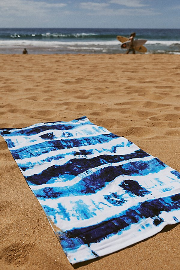 Slide View 3: Indigo Sun Beach Towel
